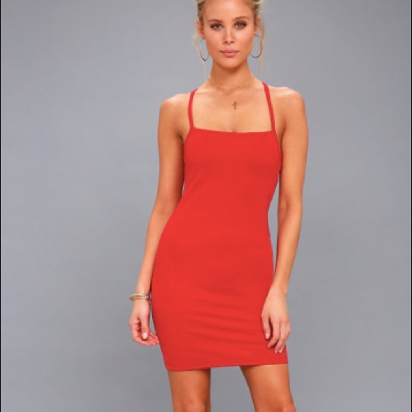 Lulu's Dresses & Skirts - Red Lulu's Dress